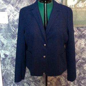 Gap Blue Wool Blazer